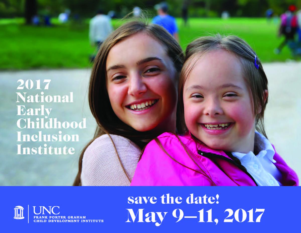 Save the Date for 2017- May 9th to 11th 2017